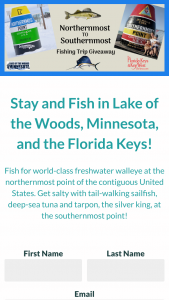 Monroe County – Northernmost-Southernmost Fishing Trip Giveaway – Win one American Express Travel Card