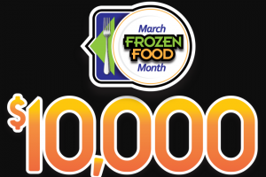 National Frozen & Refrigerated Foods Association – March Frozen Food Month $10000 – Win one (1) one thousand dollars ($1000) Grocery Store Gift Card of their choice