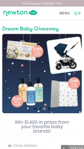 Newton Baby – Dream Baby Giveaway Sweepstakes
