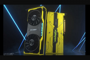 Nvidia Geforce – Rtx 2080ti Cyberpunk 2077 Edition – Win of this promotion consists of the following Up to 77 instant winners will each win Limited Edition Cyberpunk 2077 GeForce RTX 2080 Ti (worth $1100 MSRP).