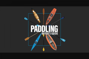 Paddling – Hurricane Kayak Giveaway – Win one Hurricane Kayaks Santee Sport 120 Kayak (approx