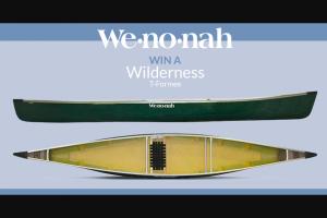 Paddlingcom – Wenonah – Win the Wenonah Wilderness Canoe in T-Formex Canoe