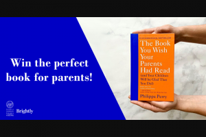 Penguin Random House – The Book You Wish Your Parents Had Read – Win 1 Copy of THE BOOK YOU WISH YOUR PARENTS HAD READ (Prize Approximate Retail Value $25)