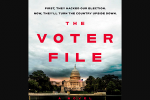 Penguin Random House – The Voter File Shelf Pro – Win 1 Copy of The Voter File by David Pepper (Prize Approximate Retail Value $27)