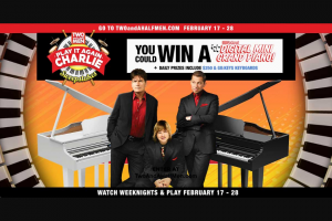 Warner Bros – Two And A Half Men Play It Again Charlie Sweepstakes
