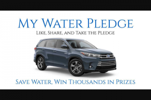 Wyland Foundation – National Mayor's Challenge For Water Conservation – Win a 2020 Toyota Highlander Hybrid XLE 3.5L 5-Cyl