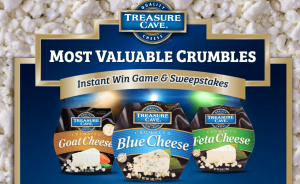 Saputo Cheese – Win a grand prize package valued at over $1,000 OR 1 of 120 Instant Win Game prizes