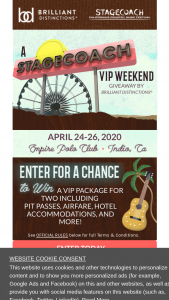 Allergan – Stagecoach Festival Weekend – Win a trip package for two people
