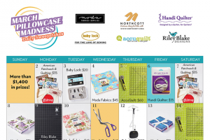 American Patchwork & Quilting – March Pillowcase Madness Daily Sweepstakes