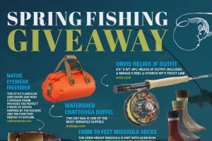 Blue Ridge Outdoors – Spring Fly Fishing Giveaway Sweepstakes