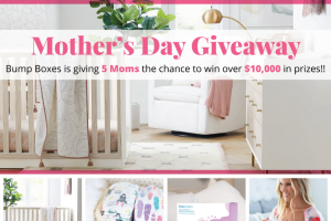 Bump Boxes – Mother's Day – Win – Pottery Barn Nursery Set