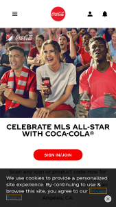 "Coca-Cola – Mls All Star Game – Win GRAND PRIZE A trip for winner and one guest to Los Angeles CA for the 2020 MLS All-Star Game scheduled for July 29 2020 (the ""Game"")."