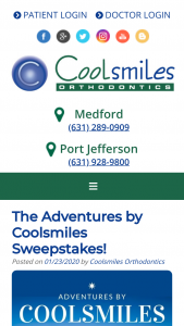 Coolsmiles – Adventures By Coolsmiles Sweepstakes
