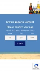 Crown Imports – Corona Seltzer Sweepstakes