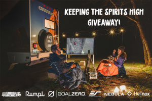Cruise America – Keeping The Spirits High Giveaway Sweepstakes