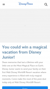 Disney Channel – Disney Junior Discover The Magic Sweepstakes