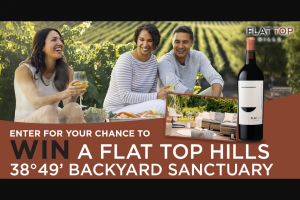 Flat Top Hills – 38°49' Backyard Sanctuary – Win a $3849 pre-paid gift card to be used on a backyard makeover