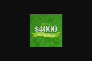 Frankly Media – $4000 Tax Day Bonus – Win a cash award in the amount of US$4000.