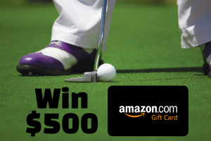 Golf & Course – $500 Amazon Gift Card Sweepstakes