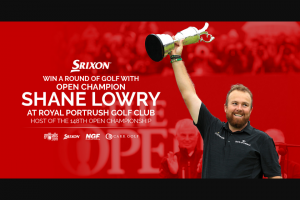 Golfballscom – Win A Trip To Ireland To Play Golf With Shane Lowry – Win round of golf with Shane Lowry at Royal Portrush Golf Club  at Administrator's sole discretion from among the other eligible entries received
