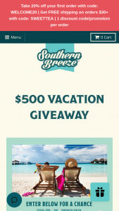Harris Tea Company – $500 Vacation Giveaway – Win consists of one $500 gift card to Apple Vacations