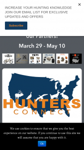 Ihea-USA – Hunters Connect Weekly Giveaway Sweepstakes