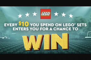 Lego – Lego Masters – Win the following LEGO building sets with a maximum total combined value not to exceed $500.