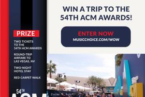 Music Choice – Atlantic Broadband Acm Awards Sweepstakes