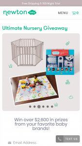 Newton Baby – Ultimate Nursery Giveaway Sweepstakes