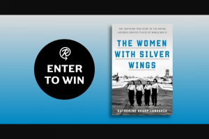 Penguin Random House – The Women With Silver Wings – Win a galley of The Women with Silver Wings by Katherine Sharp Landdeck