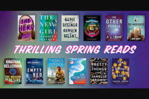 Penguin Random House – Thrilling Spring Reads Sweepstakes