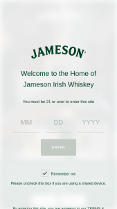 "Pernod Ricard – Jameson Bring The Bar Home – Win home bar (a branded wooden bar on wheels) (""Prize"")."