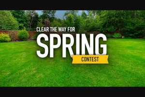 Power Equipment Direct – Clear The Way For Spring Contest Sweepstakes