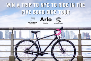 Priority Bicycles – Trip To Nyc To Ride In The Five Boro Bike Tour Sweepstakes
