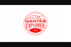 Qantas – Explorer – Win consist of a trip for the eligible Grand Prize Winner and one travel companion to winner's choice of Sydney Melbourne or Brisbane Australia