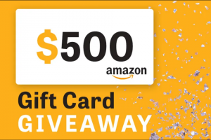 Radiocom – March 2020 Gift Card Giveaway – Win the following one (1) $500 Amazon gift card