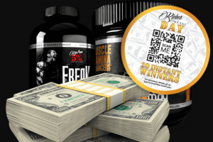 Rich Piana 5% Nutrition – 2020 Richer By The Day Sweepstakes