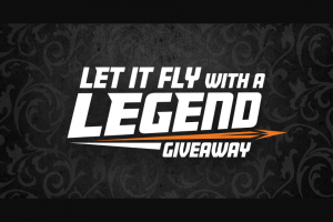 Shoot-On – Let It Fly With A Legend Giveaway Sweepstakes