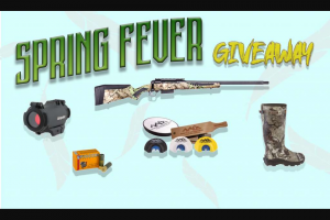 Shoot-On – Spring Fever Giveaway Sweepstakes
