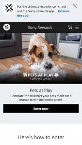 Sony – Sony Rewards Superfan Pets At Play Contest And Voting – Win Alpha z7R IV Camera (model #ILCE7RM4) and a FE 24-105mm F4 G OSS Lens (model #SEL24105G) (ARV $4699.98).