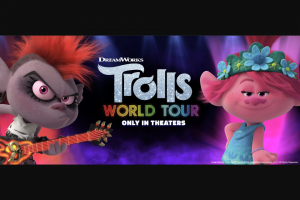 Southwest Airlines – Dreamworks Trolls World Tour Premiere – Win a trip for four (4) to the DreamWorks Trolls World Tour Movie Premiere