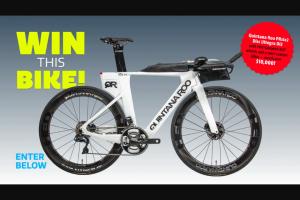 Triathlete – Quintana Roo Prsix2 Triathlon Bike Sweepstakes