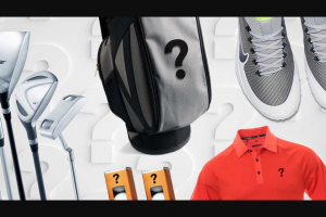 Underpar – Cart Bag Fully Stocked Sweepstakes