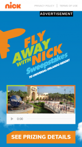 "Viacom – Fly Away With Nickelodeon – Win in the Sweepstakes (the ""Grand Prize"")."