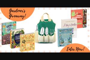Workman Publishing – The Gardener's Giveaway Sweepstakes