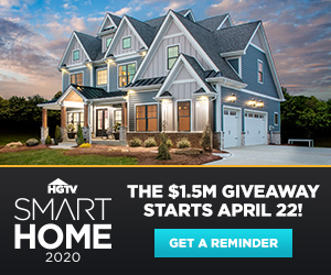 HGTV – Smart Home 2020 – Win a $1.5M Home PLUS $100,000 AND a Mercedes-Benz GLB