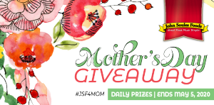 John Soules – Win 1 of 2 major prizes of a $500 Visa gift cards OR 1 of 64 minor prizes