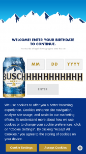 Anheuser-Busch – Busch Weddings – Win one (1) $300.00 pre-paid debit card that winner can use to purchase Busch beer for one (1) year