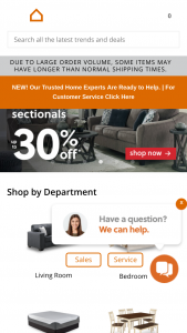 Ashley Homestore – Work & Play – Win $2000 in Ashley HomeStore product (in retail value).