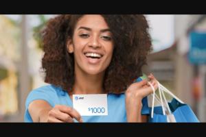 AT&T – $1000 Thanks – Win one AT&T Reward card